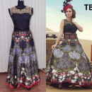 Bollywood Replica - Wedding Wear Multi-Colour Banglori Silk Anarkali Gown - TB-5