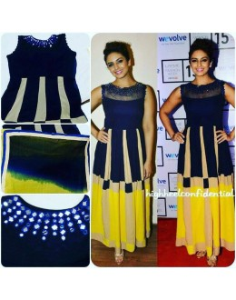 Bollywood Inspired - Ready-Made Designer Multi-Colour Fancy Kurti - Taffri-1