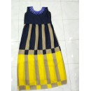 Bollywood Inspired - Ready-Made Designer Yellow & Navy Blue Fancy Kurti - Taffri-3