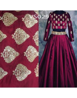 Bollywood Replica - Wedding Wear Maroon Lehnega Choli - VS029