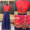Bollywood Style - Stylish Red & Blue Lehenga Choli  -VS076