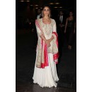 Bollywood Replica - Alia Bhatta In Cream & White Lehenga Choli - SDC102
