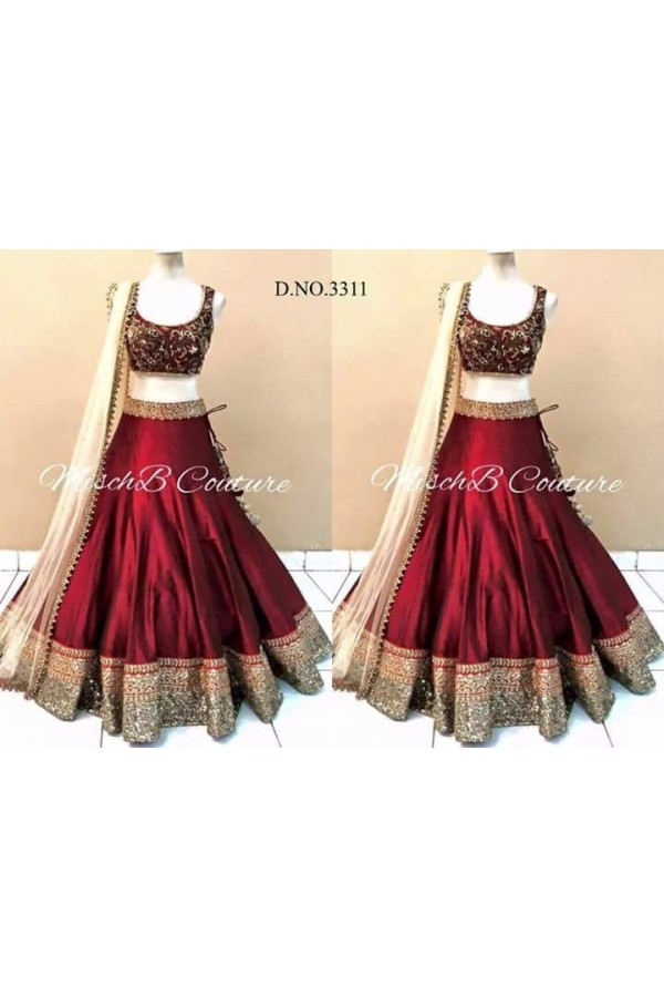 a02b33efa5 buy online Bollywood Replica - Designer Pink   Beige Net Wedding ...