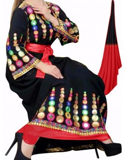 Bollywood Replica-Designer Black Georgette Embroidered Party Wear Salwar Suit - 1019