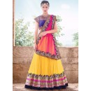 Bollywood Replica - Wedding Wear Multi-Colour Net Lehenga Choli   - 6049
