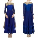 Bollywood Replica - Beautiful Blue Georgette Anarkali Suit - S146