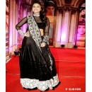 Bollywood Replica - Striking Parineeti Chopra in beautiful black and red designer lehenga - FC-6105