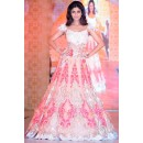 Bollywood Replica - Shilpa Shetty in Beautiful Brocade Net Anarkali Suit - 1046
