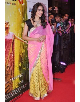 Bollywood Replica - Bipasha Basu Sizzles In A Yellow & Pink Saree - 206 (CM-Vol-4)