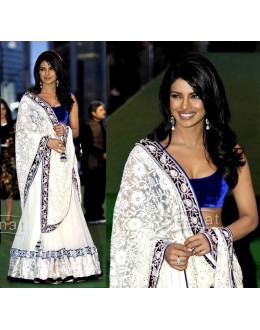 PRIYANKA CHOPRA WHITE LEHENGA FROM IIFA 2011