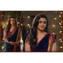 Bollywood Replica - Alia Bhatt Designer Blue Georgette Border Work Party Wear Saree -TM-68 ( TM-6 )