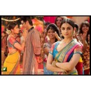 Bollywood Replica - Alia Bhatt Designer Yellow Georgette Border Work Party Wear Saree -TM-67 ( TM-6 )