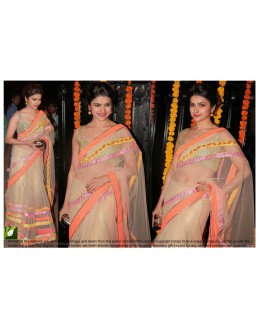 Bollywood Replica - Prachi Desai Designer Fancy Net Party Wear Saree - TM-17 ( TM-2 )
