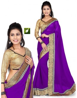 Bollywood Replica - Designer Purple Saree - TM-533
