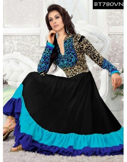Eid Special Designer Embroidered Multi Color Anarkali Suit -BT780VN(ARTI -539)Karishma