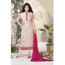 Ayesha Takia In Light Peach Georgette Salwar Suit  - Aarohi914