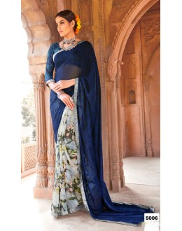 Casual Wear Major Georgette Saree  - Anokhi5006