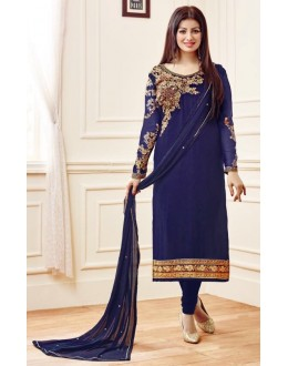 Ayesha Takia In Blue Georgette Salwar Suit  - AD2113Blue
