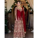 Bollywood Inspired - Wedding Wear Anarkali Suit - DulhanMaroon