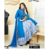 Ethnic Wear Blue Ton Silk Lehenga Suit - Gazal2470