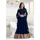 Festival Wear Blue Georgette Anarkali Suit - LT1204Blue
