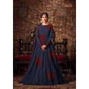 Wedding Wear Dark Grey Georgette Anarkali Suit - Maisha4405-B