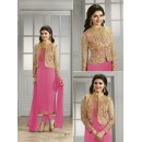 Prachi Desai In Light Pink Georgette Salwar Suit  - Prachi4111-I