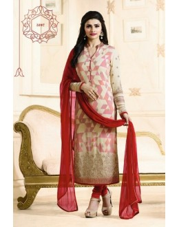 Prachi Desai In Multi-Colour Georgette Salwar Suit  - Prachi315197