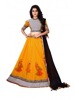 Festival Wear Yellow Lehenga Choli - Ramzat7040