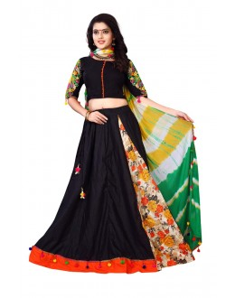 Festival Wear Black Lehenga Choli - Ramzat7044