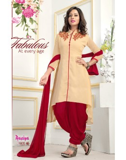 Festival Wear Readymade Georgette Patiyala Suit  - Rasiya905