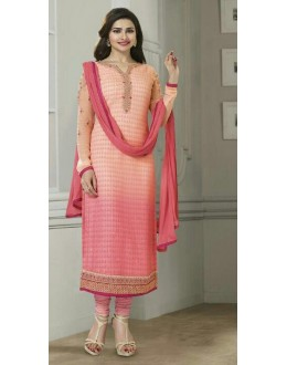 Party Wear Pink Georgette Salwar Suit  - Vinay224297