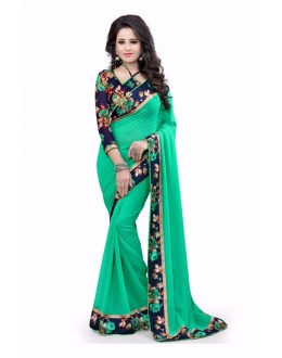 Party Wear Georgette Designer Saree  - ZilmilRama