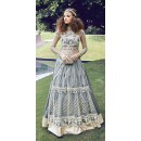 Party Wear Grey Anarkali Salwar Suit - ZoyaCrystal16002