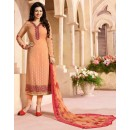 Ayesha Takia In Orange Georgette Salwar Suit - ZubedaStraight12502