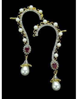Designer Indian CZ Earring - 87542