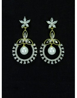 Designer Indian CZ Earring - 87568