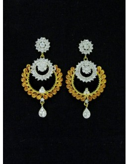 Designer Indian CZ Jhumka - 87571