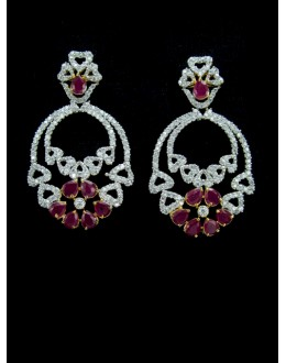 Designer Indian CZ Earring - 87838