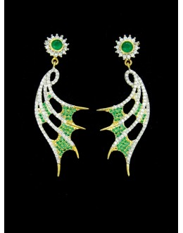 Designer Indian CZ Earring - 88863