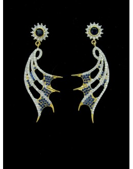 Designer Indian CZ Earring - 88864