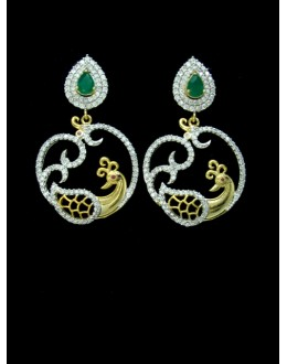 Designer Indian CZ Earring - 88866