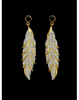 Designer Indian CZ Earring - 88872