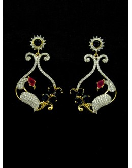 Designer Indian CZ Earring - 89425