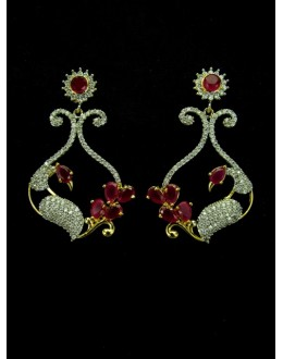Designer Indian CZ Earring - 89427