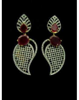 Designer Indian CZ Earing - 89443