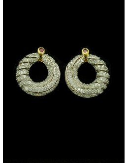 Designer Indian CZ Earing - 89448