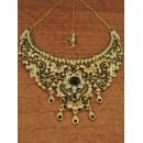 Designer Stone Necklace Set - 82087