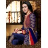 Eid Special Karishma Kapoor In Designer Blue Embroidered Anarkali Suit-11001-C( SD-Rani )Karishma