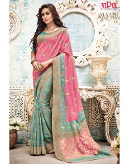 Casual Wear Multi-Coour Saree  - 21143